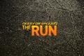 Картинка асфальт, трещины, фон, надпись, need for speed the run