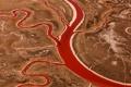 Картинка пустыня, вены, США, высохший солёный залив, Сан - Францыско