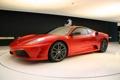 Картинка спорткар, Ferrari, Феррари, F430, красная, Scuderia