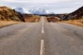 Картинка горы, дороги, Шотландия, горизонт, Соединенное Королевство, Fasnagrianach