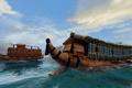 Картинка море, волны, лодки