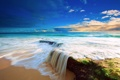 Картинка океан, берег, Beach, Water, прилив, Ocean