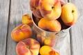 Картинка фрукт, fruit, ведерко, нектарин, bucket, nectarine