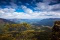Картинка природа., лес, горы, Австрия, небо