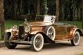 Картинка ретро, Rolls-Royce, Phantom, передок, фантом, 1930, роллс ройс