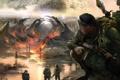 Картинка вода, огонь, заводы, вороны, карусель, S.T.A.L.K.E.R, оружие военные