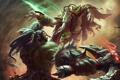 Картинка starcraft, warcraft, Zeratul, thrall, Heroes of the Storm, moba