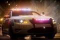 Картинка взрыв, осколки, гонка, полиция, погоня, ford, need for speed the run