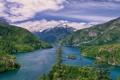 Картинка Diablo Lake, горы, Вашингтон, Washington, Озеро Дьявола