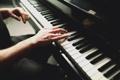 Картинка игра, руки, клавиши, пианино, piano