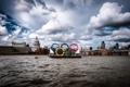 Картинка англия, лондон, london, england, Thames River, Olympic Rings