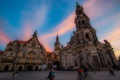 Картинка люди, дома, Германия, Дрезден, площадь
