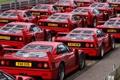 Картинка машины, фон, Ferrari
