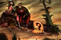 Картинка растения, Марио, кирпичи, принцесса, 8bit, монетки, Супер