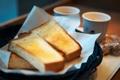 Картинка хлеб, чашки, кружки, тосты