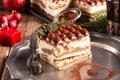 Картинка какао, пирожное, новый год, свеча, dessert, десерт, cake