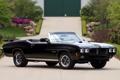 Картинка чёрный, Pontiac, GTO, Понтиак, 1970, передок, Muscle car