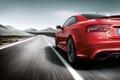 Картинка Audi, скорость, трасса, красная, RS5