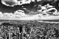 Картинка город, высота, new york