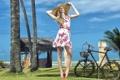 Картинка лето, девушка, Clara Pierrotti, Sun and Sea