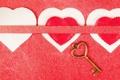 Картинка картон, сердца, ключ