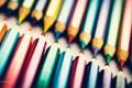 Картинка фиолетовый, макро, синий, красный, фотограф, карандаш, photography