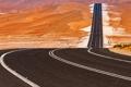 Картинка дорога, пустыня, ОАЭ