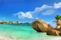 Картинка камни, тропики, tropics, sand, море, песок, stones