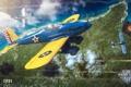 Картинка MMO, WoWp, World of Warplanes, авиа, Мир самолётов, Fisher XP31, Wargaming.net