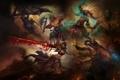 Картинка арт, монах, Diablo 3, варвар, шаман, demon hunter, охотник на демонов