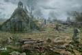 Картинка кладбище, ведьмак, пустош, The Witcher 3: Wild Hunt
