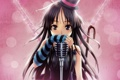 Картинка аниме, девочка, микрофон, Heart No Kuni Alice
