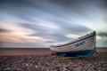 Картинка лодка, небо, море