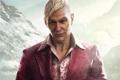 Картинка Горы, Взгляд, Снег, Ubisoft, Злодей, Far Cry 4, Паган Мин