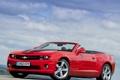 Картинка car, Chevrolet, Camaro, red, sportcar, Convertible