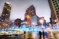 Картинка ночь, нью-йорк, night, new york, usa, nyc, Union Square