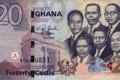 Картинка Bank, blue, Ghana, twenty, Money, Cedis, people