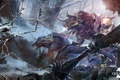 Картинка снег, арт, монстры, online, art, guild wars 2, создания