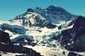 Картинка небо, снег, горы, скалы, ледник, швейцария, альпы