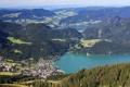 Картинка лес, пейзаж, горы, природа, фото, Австрия, сверху