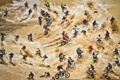 Картинка соревнование, мотоциклы, Red Bull Hare Scramble, люди