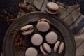 Картинка печенье, шоколад, макарон, сладкое, macaron, сладости