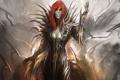 Картинка девушка, арт, рыжая, witchblade