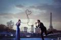 Картинка любовь, Vincent Bourilhon, парень, девушка, связь, Love stories born in Paris