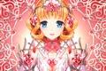Картинка девушка, украшения, аниме, арт, сердечки, nardack, kaku-san-sei million arthur