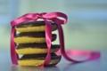 Картинка сладость, печенье, лента, бант, бантик