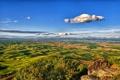 Картинка Palouse, Steptoe Butte State Park, панорама, Washington, холмы