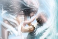 Картинка девушка, крылья, ангел, парень