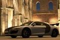 Картинка Audi R8, GT5, Аббатство Сан-Гальяно