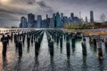 Картинка Manhattan, Wallpaper, Rainy Day, City Scape
